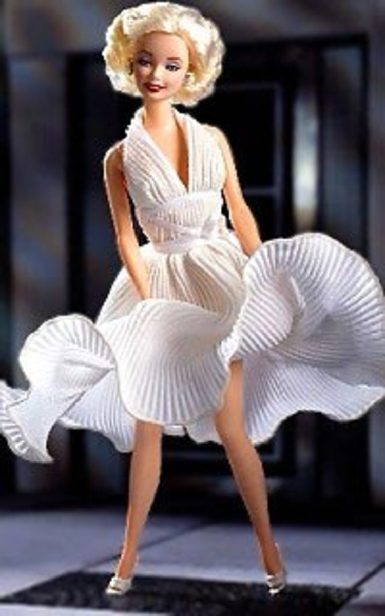 Marilyn Monroe hi.baidu.com Celebrity Barbie Doll