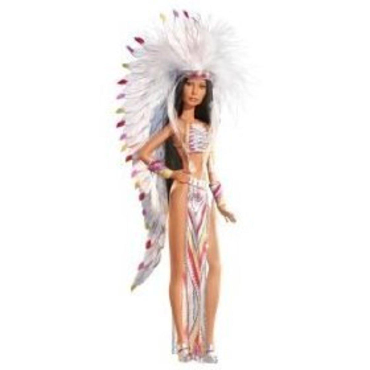 Cher in Bob Mackie Celebrity Barbie Doll
