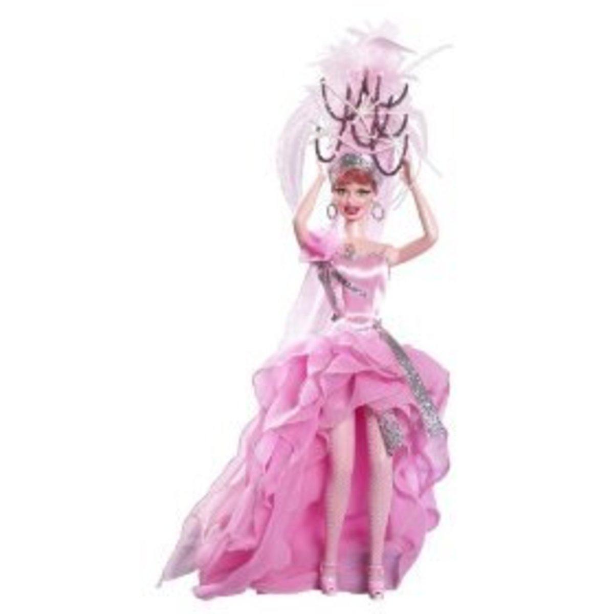 I Love Lucy Celebrity Barbie Doll