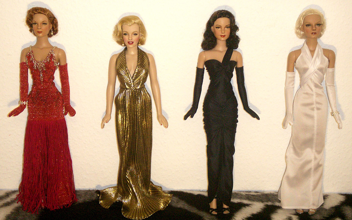 Painted Dolls - Four Celebrities nivsikand.com