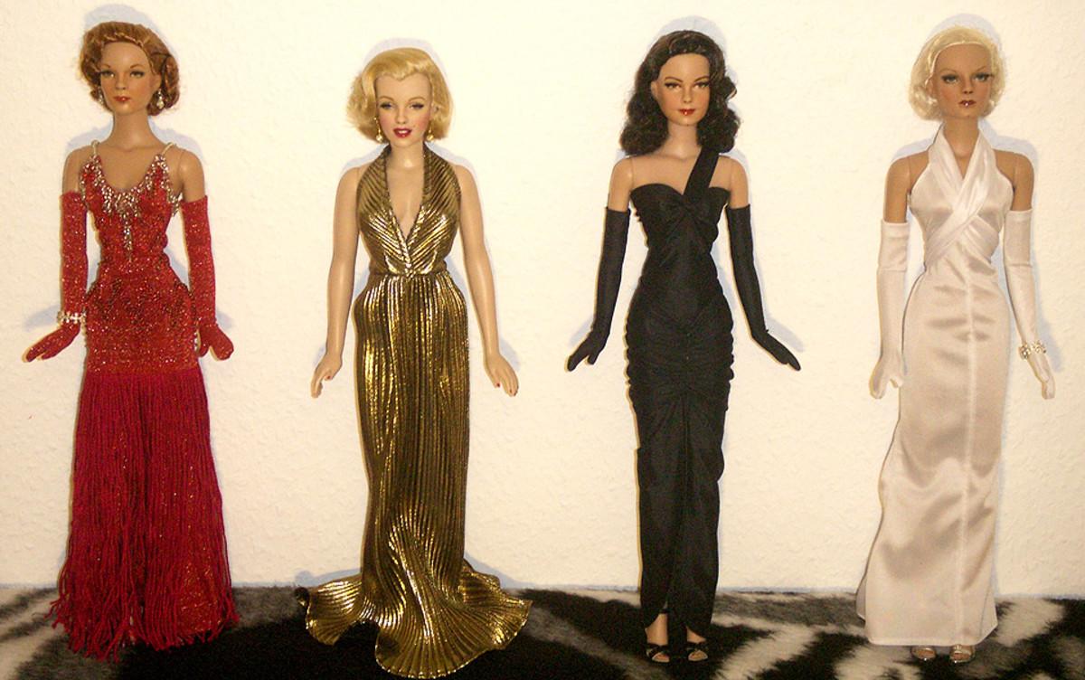 Painted Dolls - Four Celebrities nivsikand.com