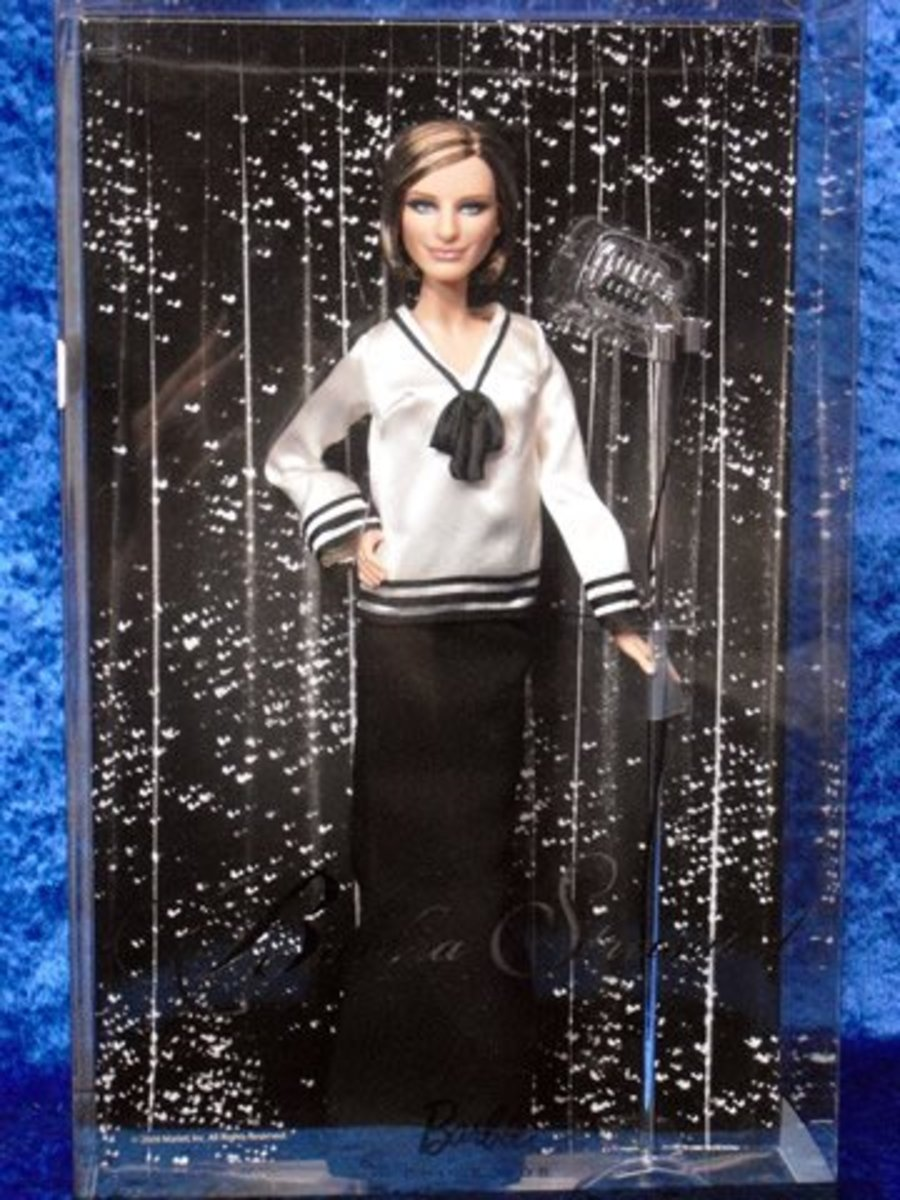 Barbara Streisand ioffer.com Celebrity Barbie Doll