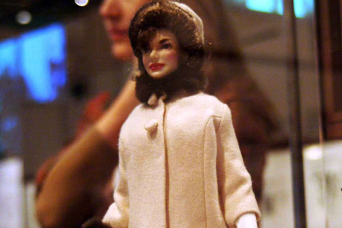 Jackie Kennedy Onasis ctv.ca Celebrity Barbie Doll