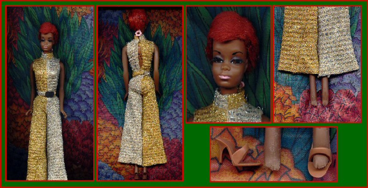 Barbie Doll Julia - Diahann Carrol photo courtesy of historiann.com Celebrity Barbie Doll