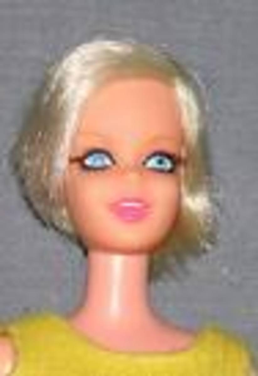Twiggy Barbie Doll photos courtesy of dolls4play.com Celebrity Barbie Doll