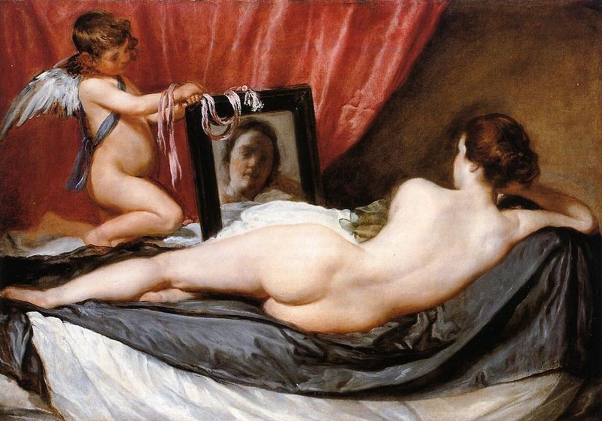 Venus at her Mirror - Velazquez