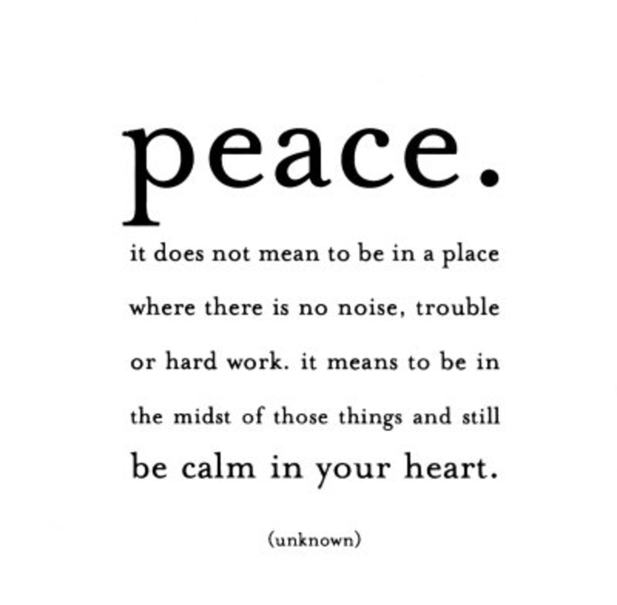 The 5 Elements of a Peaceful Lifestyle