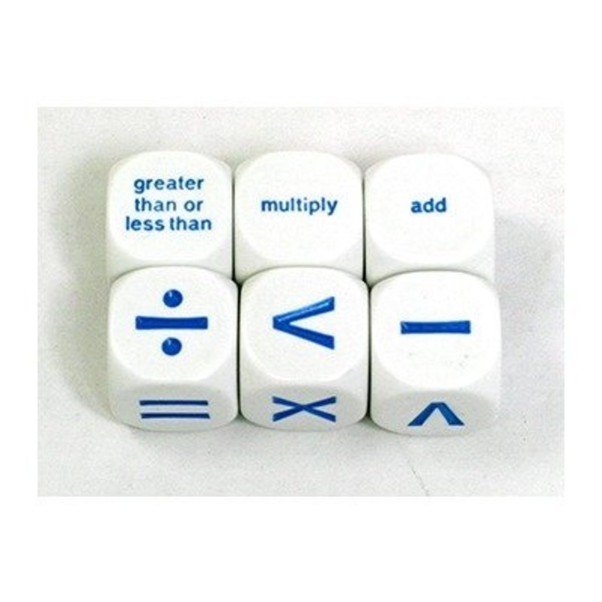Four operations dice