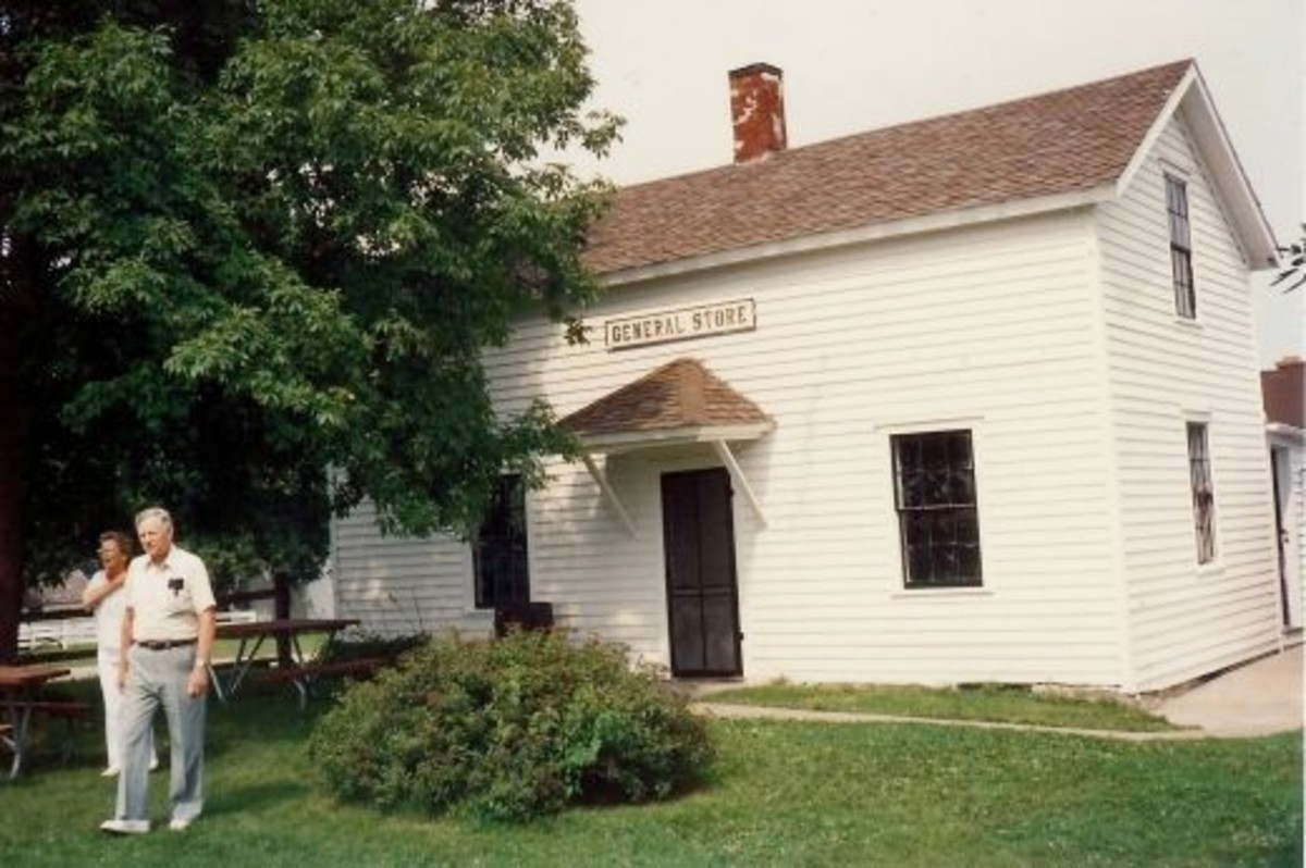 Outside view of the Keppy & Nagle General Store