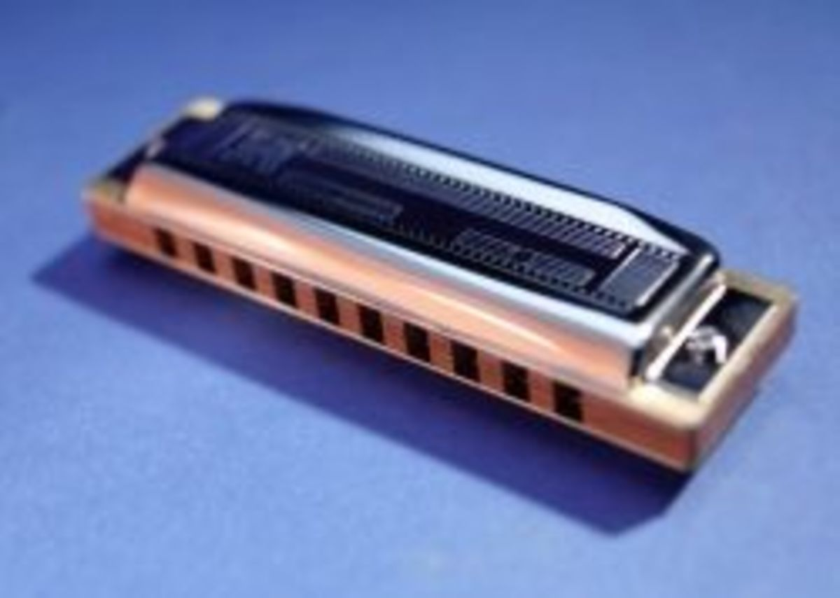 Beginners' Guide To Playing The Harmonica