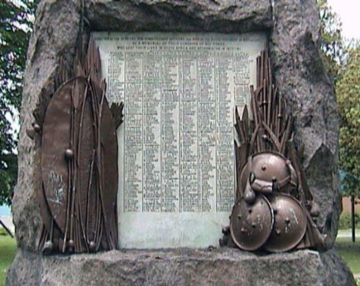 War Memorial in Woolwich, London