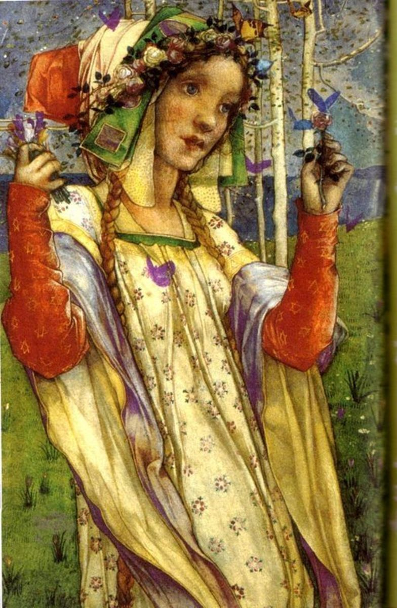 Fairy Land Vintage Art by Edward Reginald Frampton (1872-1923)