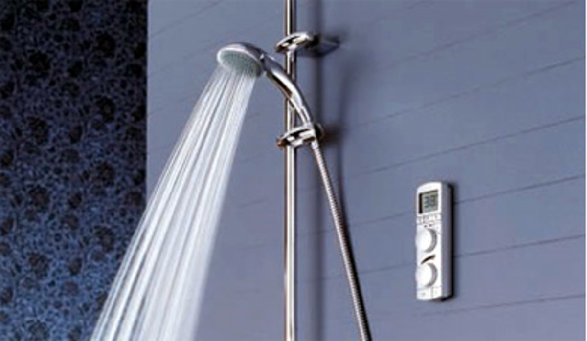 Wireless Digital Shower