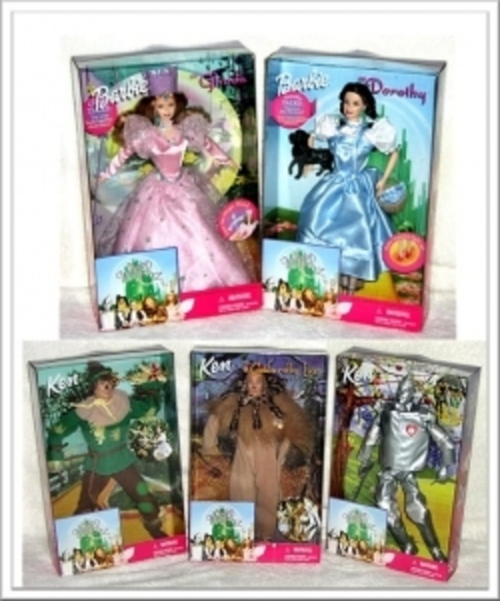 Pink Box Barbie Wizard Of Oz