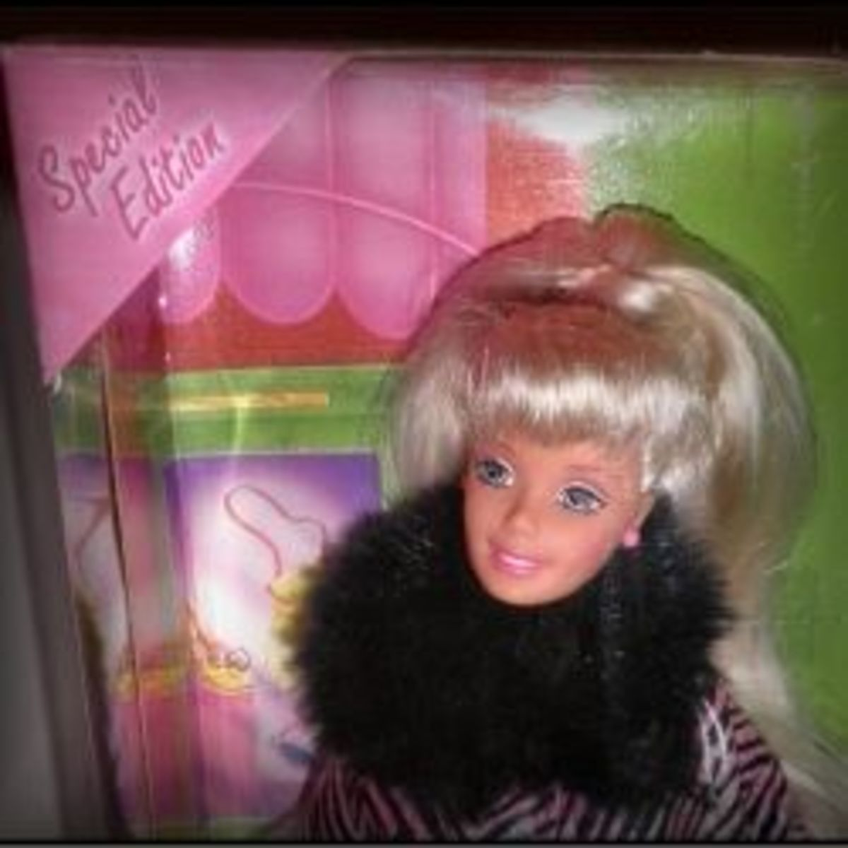 Pink Box Barbie