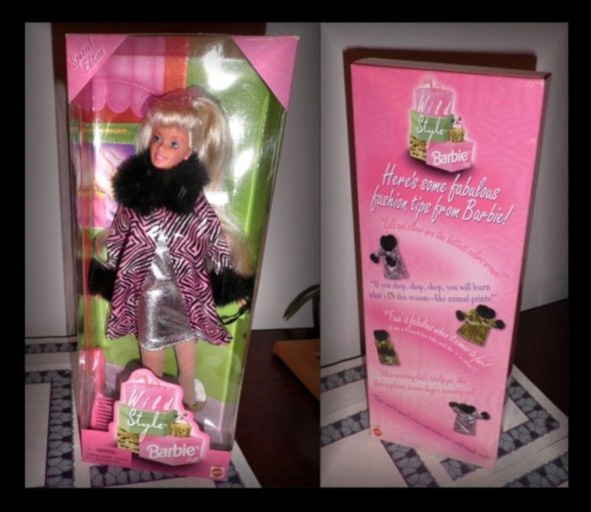 "Mattel Special Edition 1997 ""Wild Style"" Pink Box Barbie"