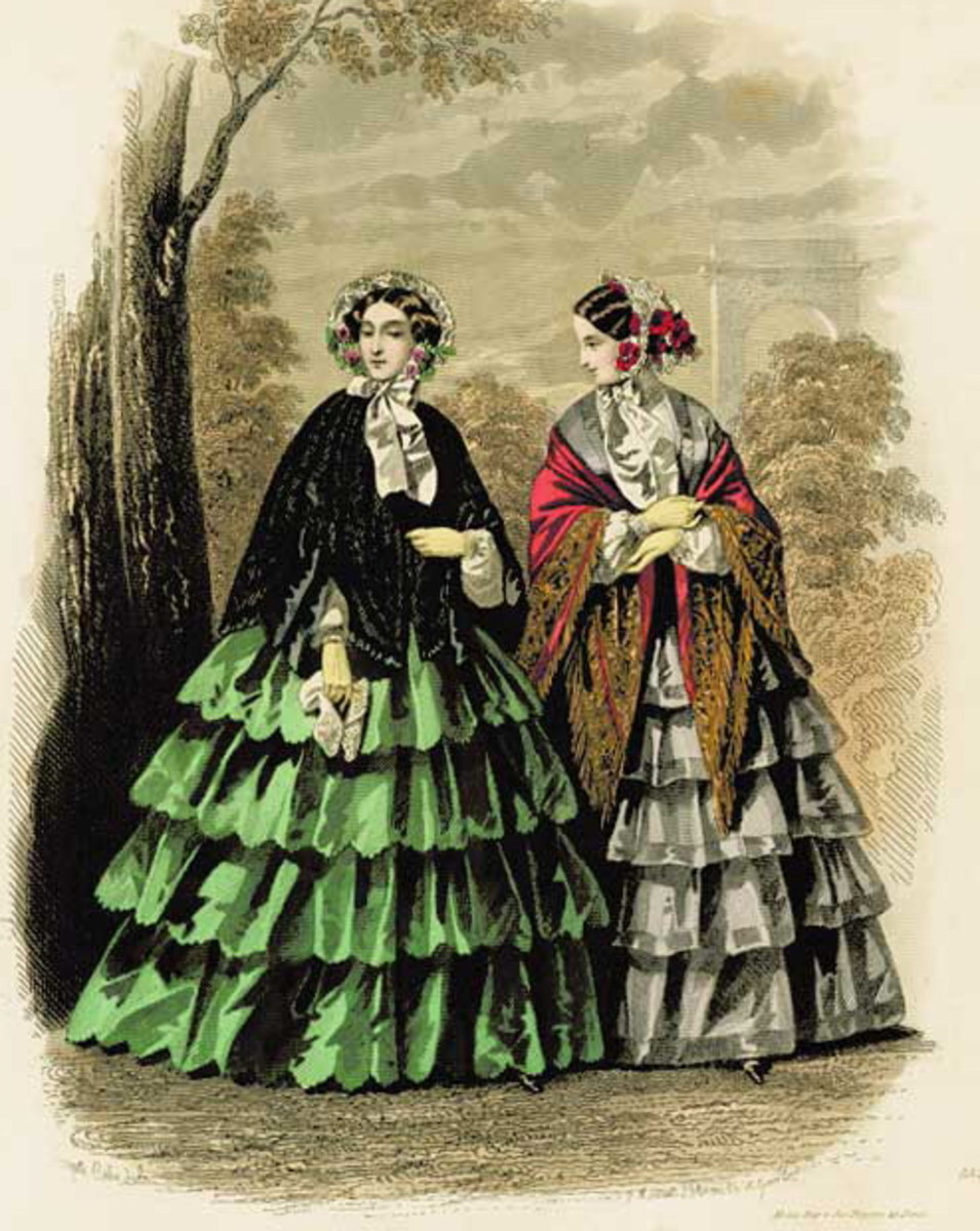1878: Victorian womens fashions for fall