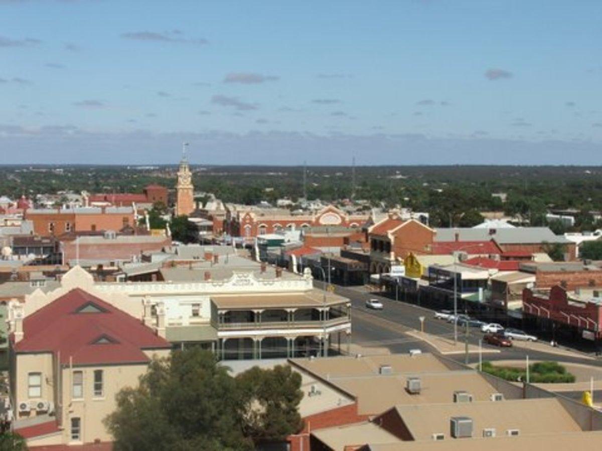 Kalgoorlie skyline, Western Australia