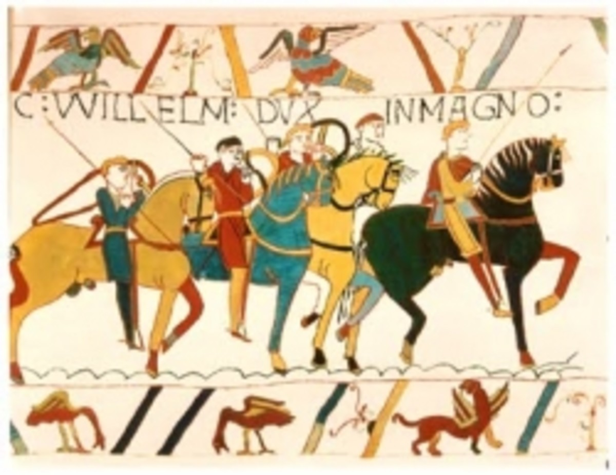 Bayeux Tapestry, 11th century