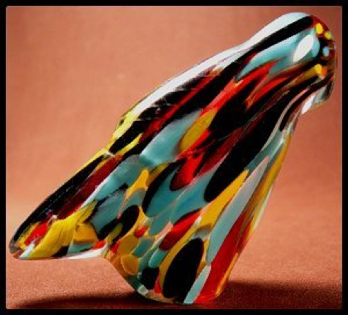 Lena Boone Murano glass eagle