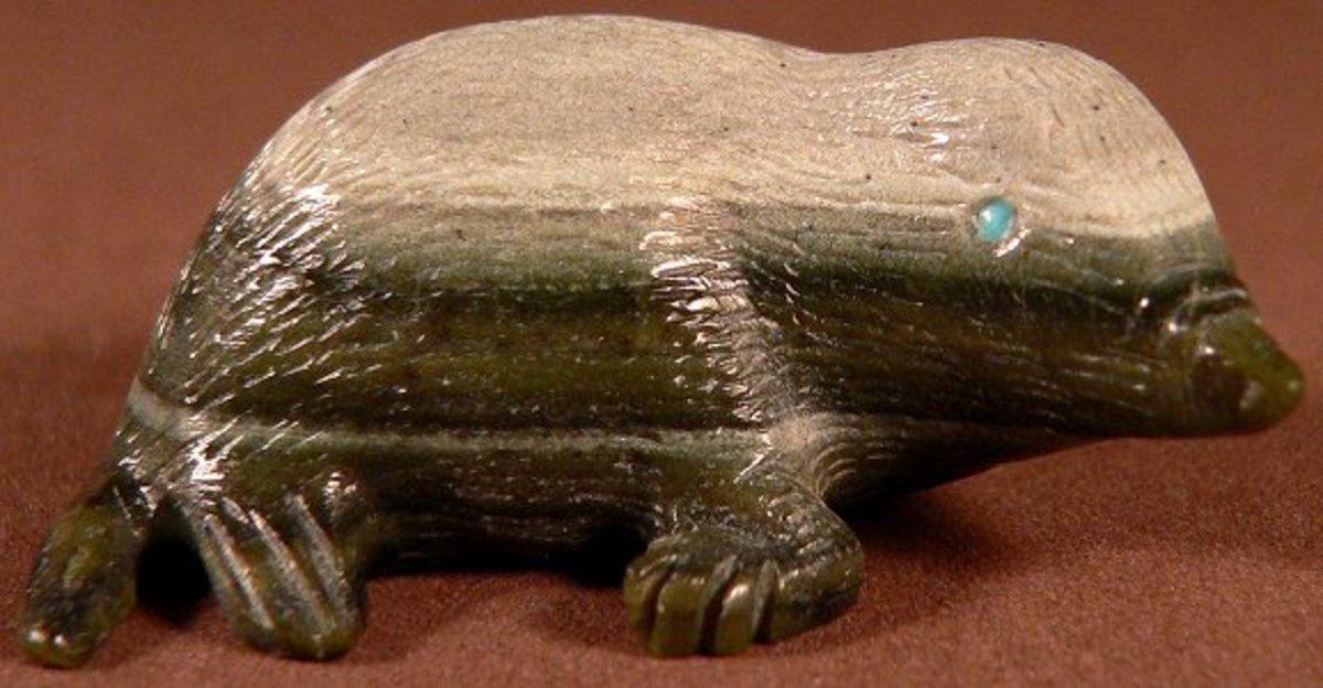 Arvella cheama ricolite serpentine mole