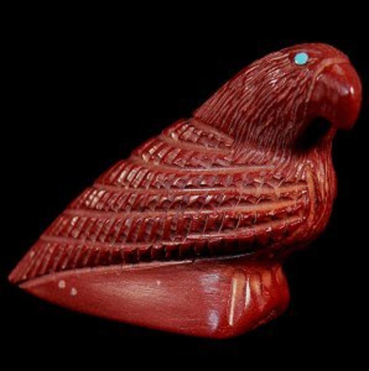 Calvin Peina pipestone eagle
