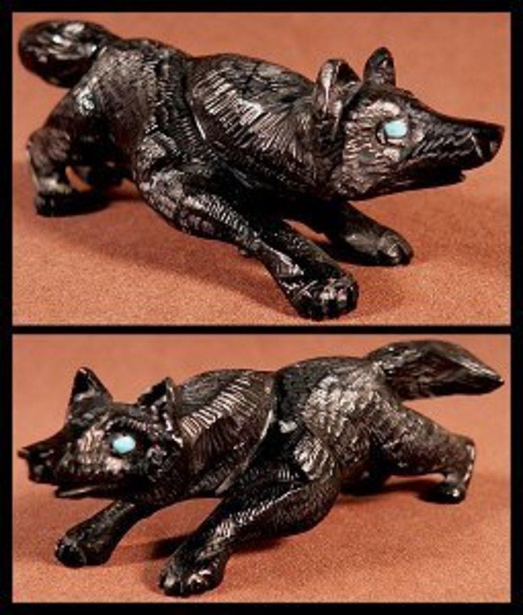 Dan Quam Picasso marble wolf
