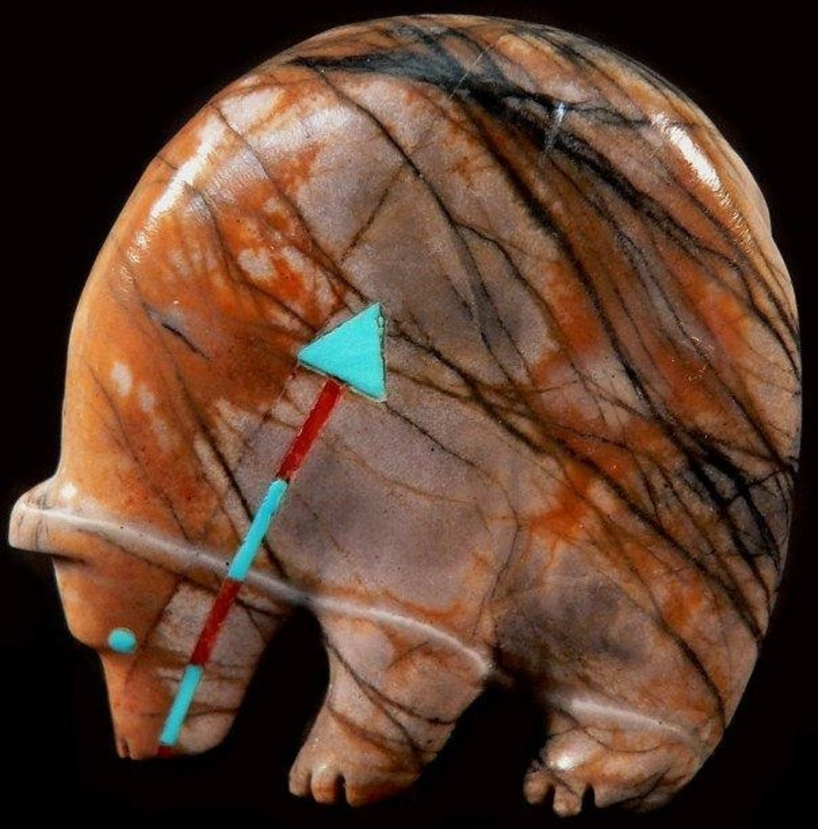 Andres Quandelacy Picasso marble medicine bear