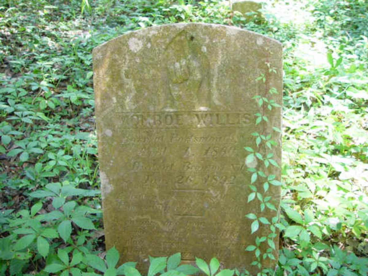 Headstone located in an isolated cemetery on the now deserted Shackleford Banks