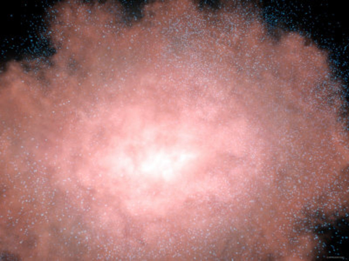 Close-Up of a Dusty and Bright Galaxy Located Billions of Light years Away in Infrared Light