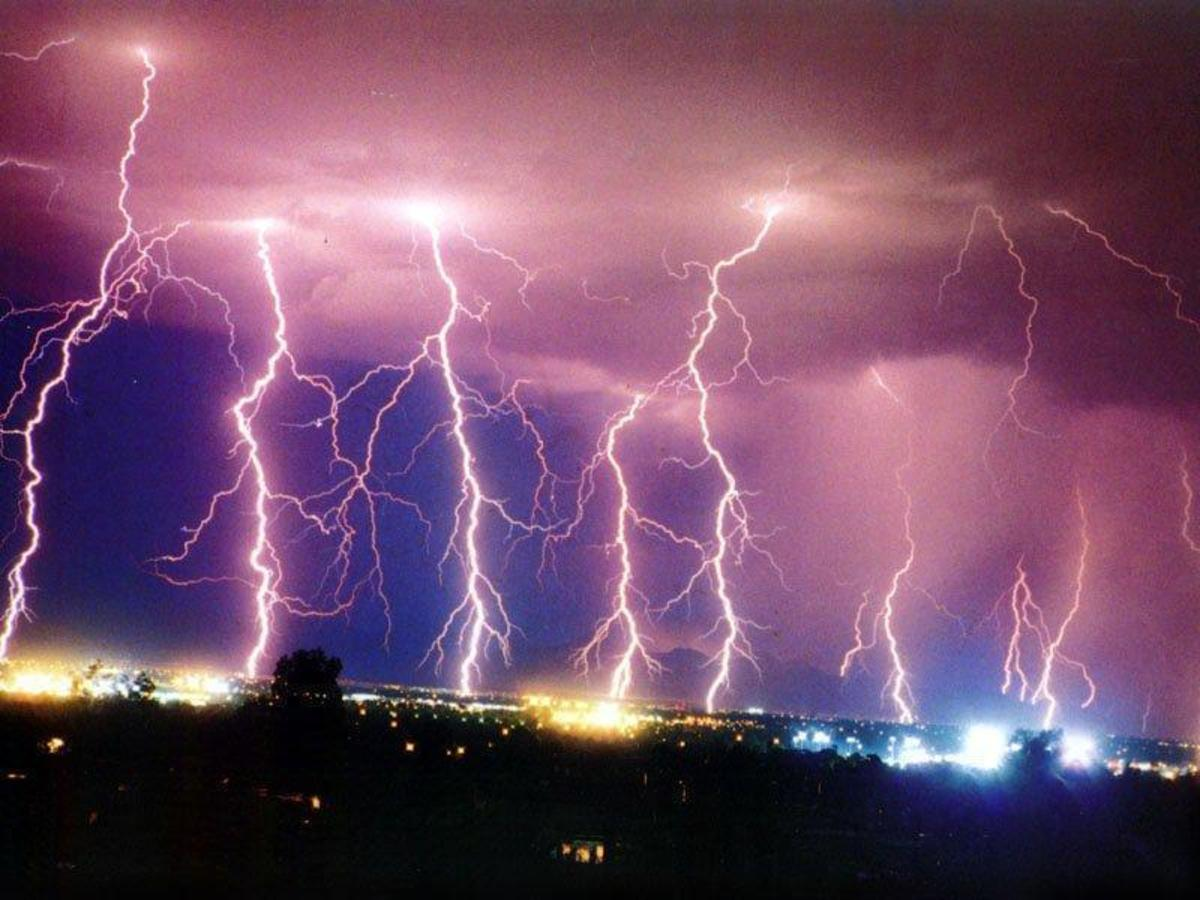 Even though lightning has a lot of energy, it can't be efficiently used or stored