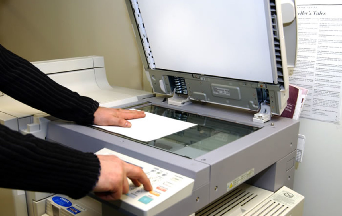 Some copy machines use static electricity to produce the photocopies