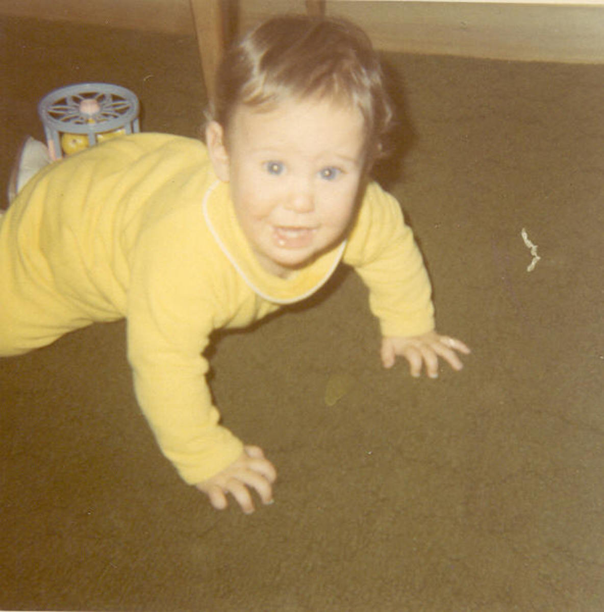 Learning to crawl before the year was through