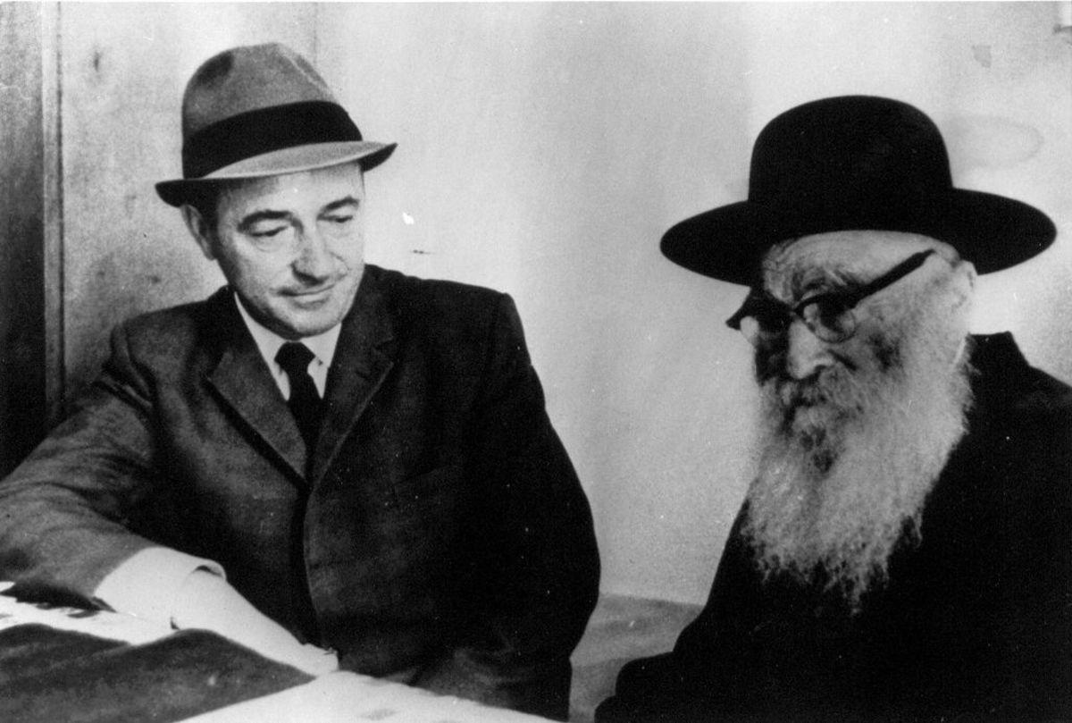 Rabbie Aryeh Levin (public domain image)
