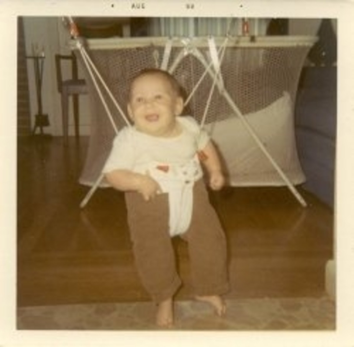 Me, sometime in 1969