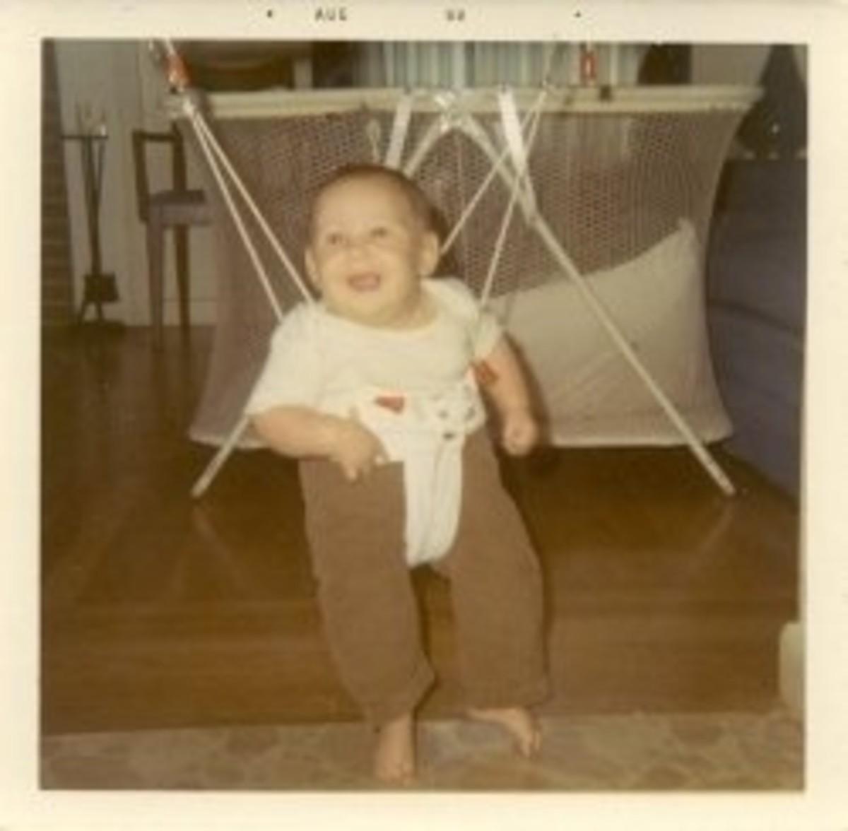 Me, sometime in 1969