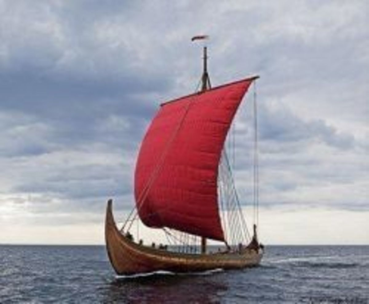 Dragon Harald Fairhair, the largest Viking ship built in modern times.