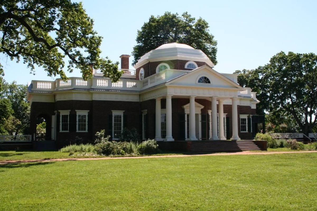 Monticello, home of Thomas Jefferson