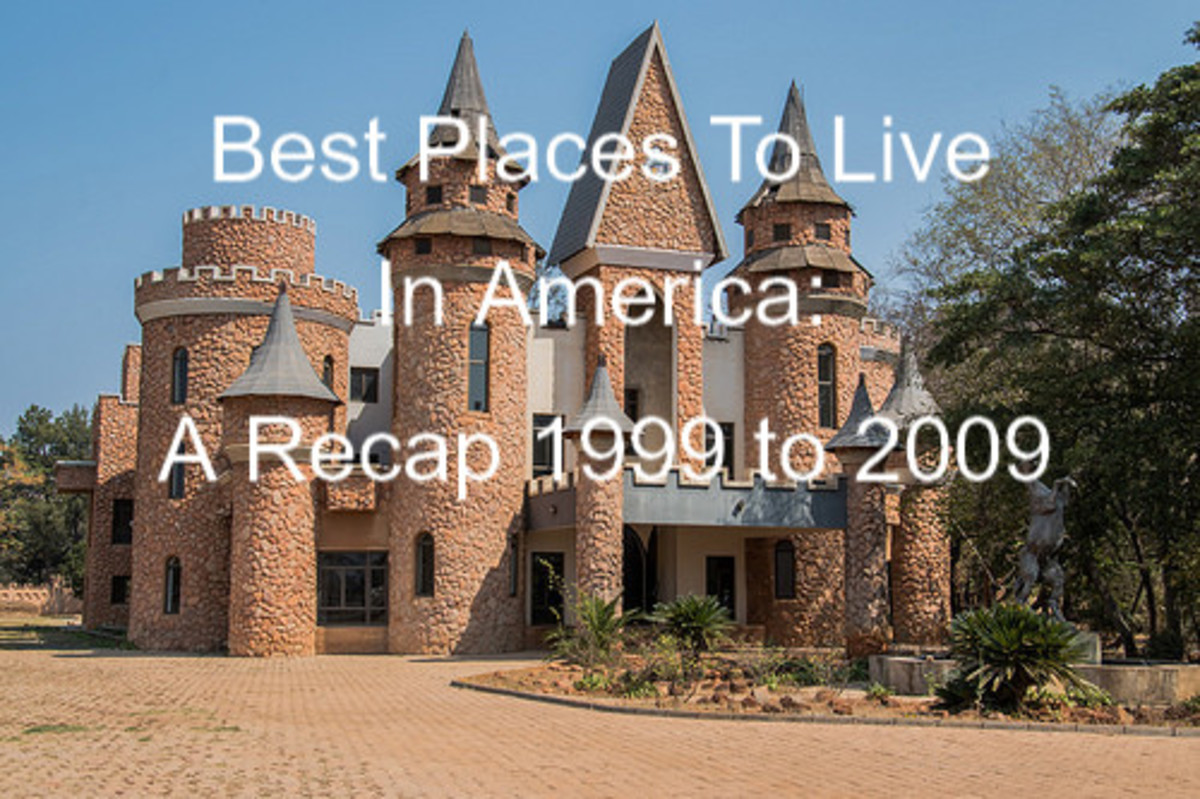 Best Places to Live in America--A Recap 1999-2009