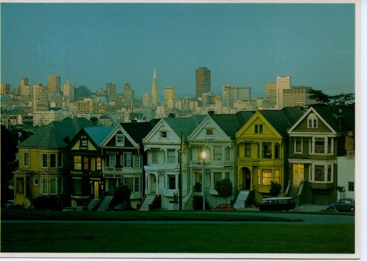 Residential area San Francisco