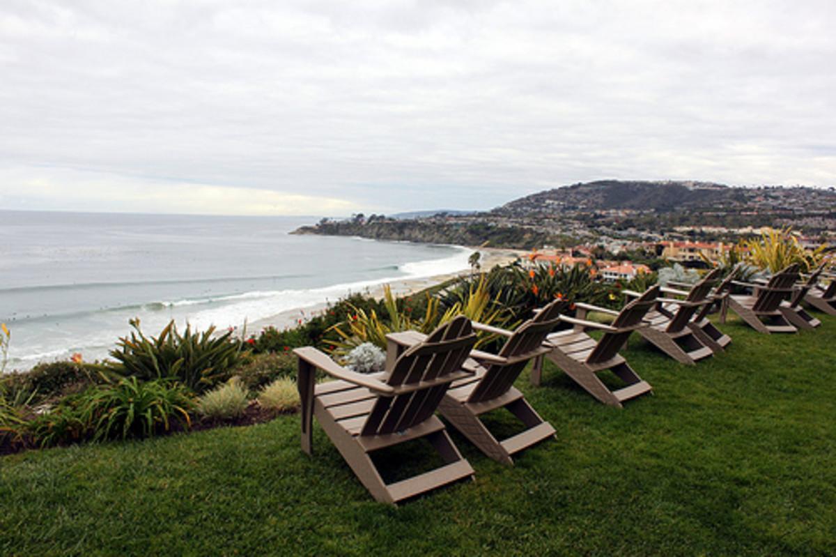 Orange County, CA overlooking the ocean