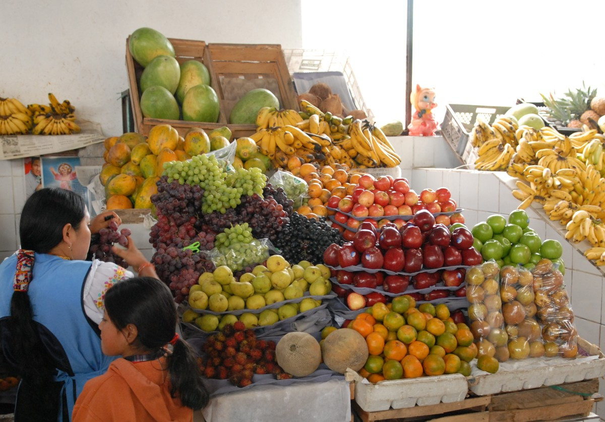 Fresh, organic and ripe - the fruits here are mouthwatering.