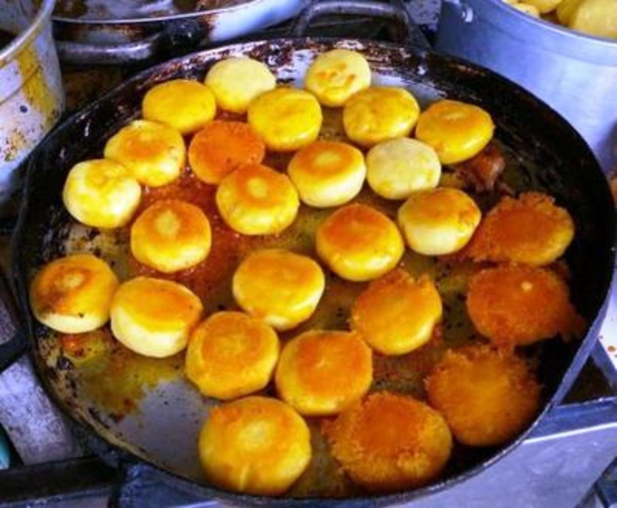 Soft, delicious potato pancakes