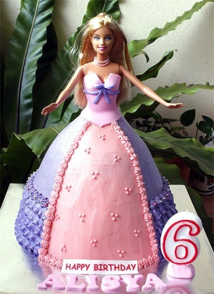 Barbie Alisya Doll Cake by Special Cakes by Tracey