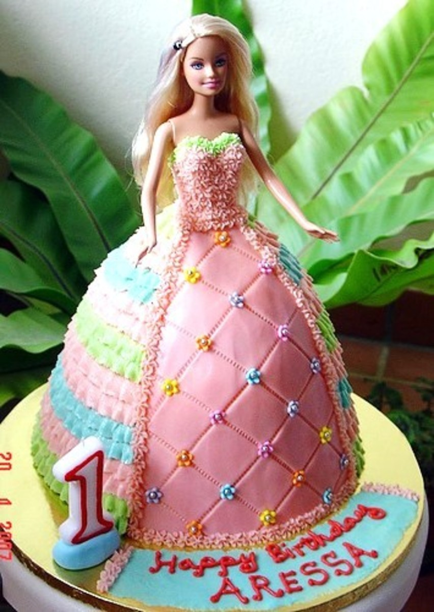Barbie Aressa Doll Cake by Special Cakes by Tracey