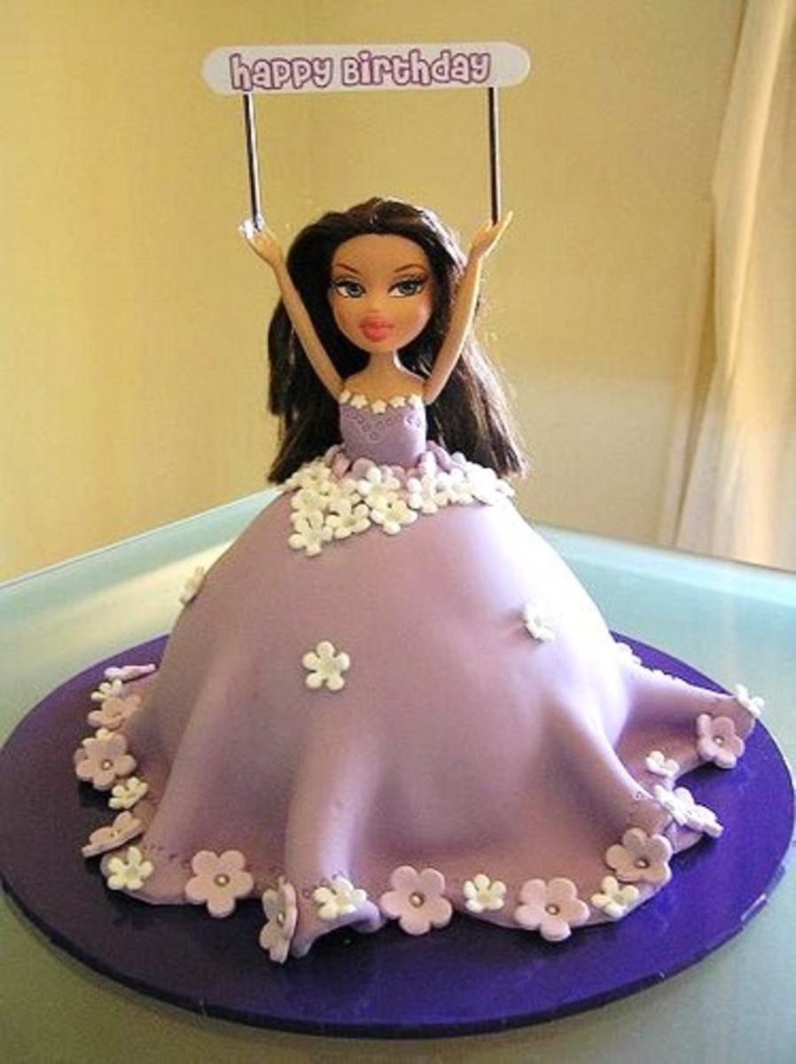 Bratz Doll Cake by Cre8acake