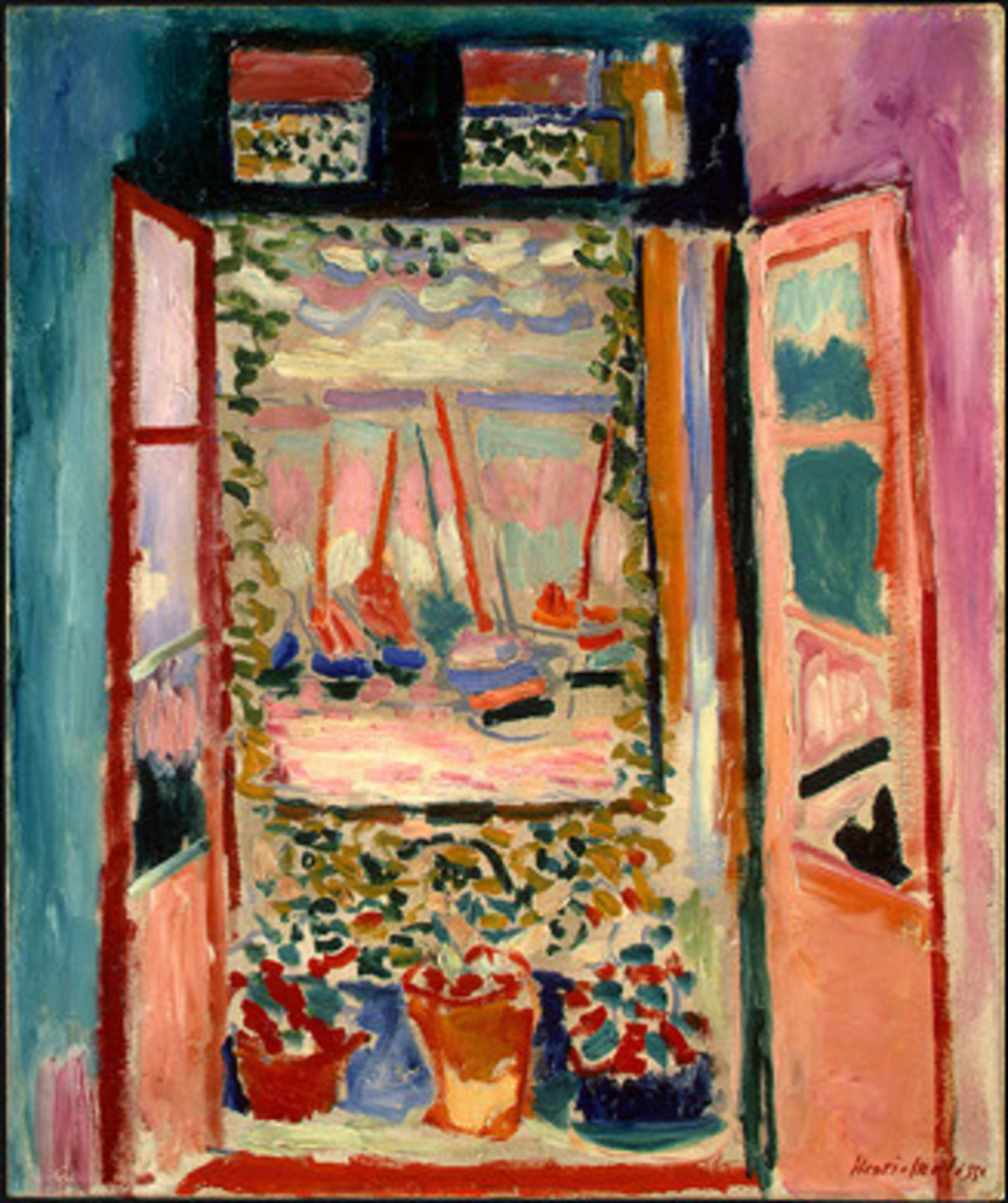 """Open Window"" after Matisse"