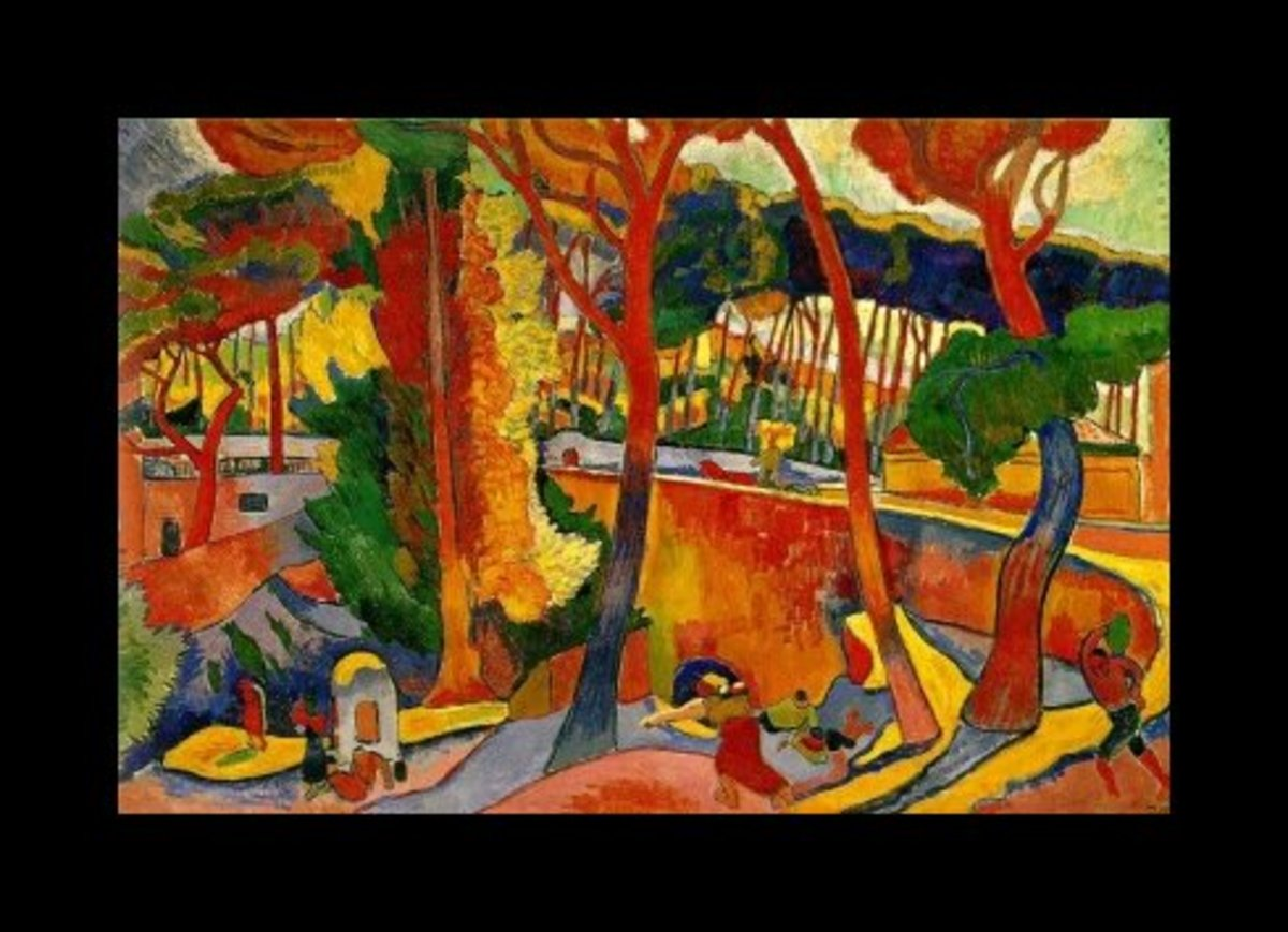 """Turning Road"" after Derain"