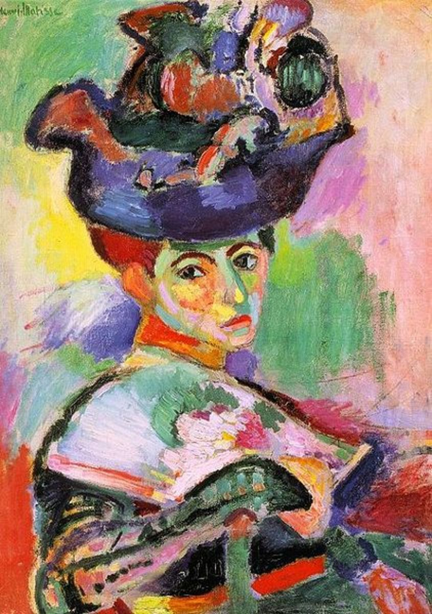 """Woman With Hat"" after Matisse"
