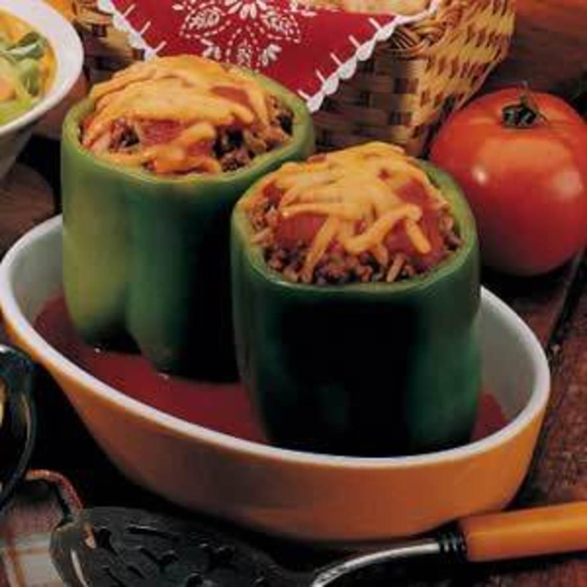 Cooked Stuffed Peppers